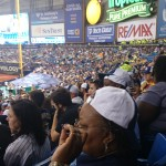 Section 128 on down...filled the flanks!
